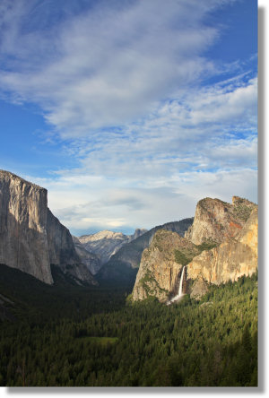 Yosemite Valley as seen from Arist Point