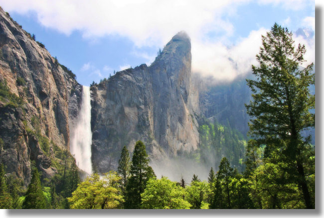 Yosemite Hikes Home » Yosemite Valley » Highlights: Bridalveil Fall