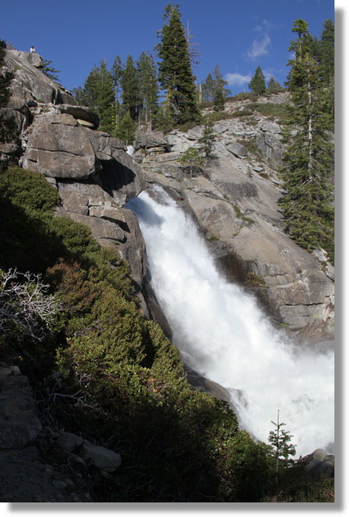 Middle Cascade, Upper Chilnualna Falls, Yosemite National Park