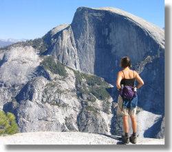 Yosemite Hiking Trails North Dome