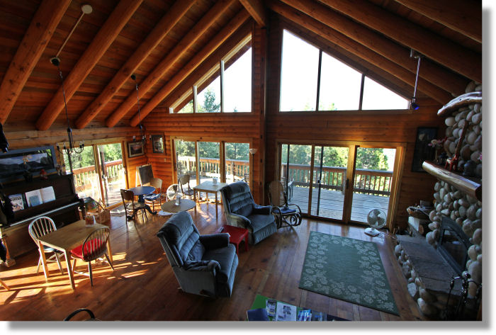 Buck Meadows Lodging Lillaskog Lodge Vacation Rental