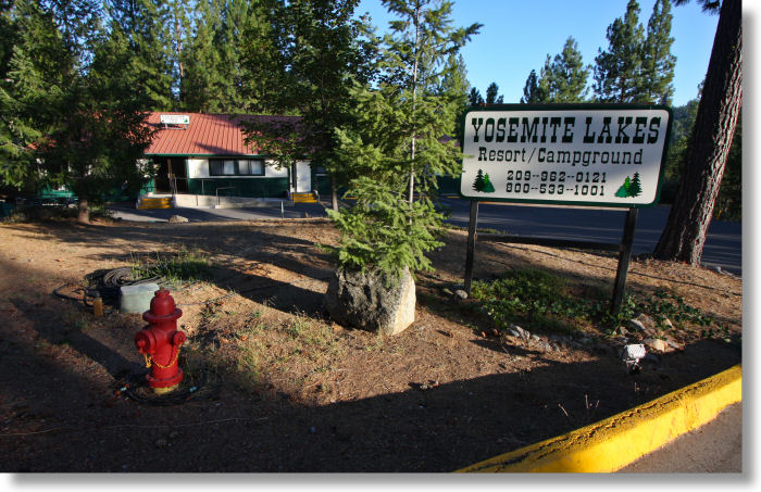 Buck Meadows Lodging The Yosemite Lakes Resort Campground