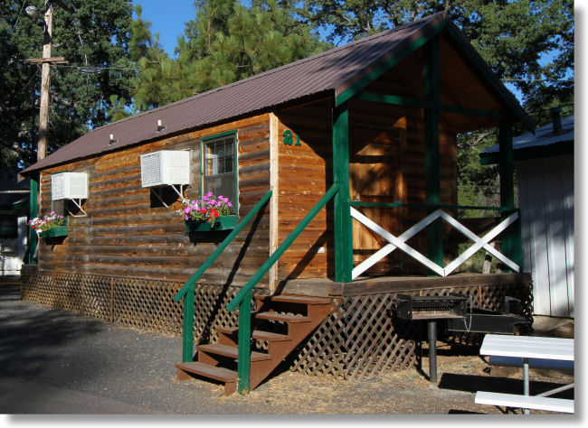 cabin to park only entrance cabins west miles yosemite in family