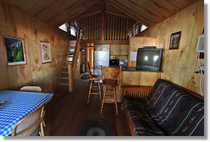 Yosemite Ridge Resort Family Cabin Interior