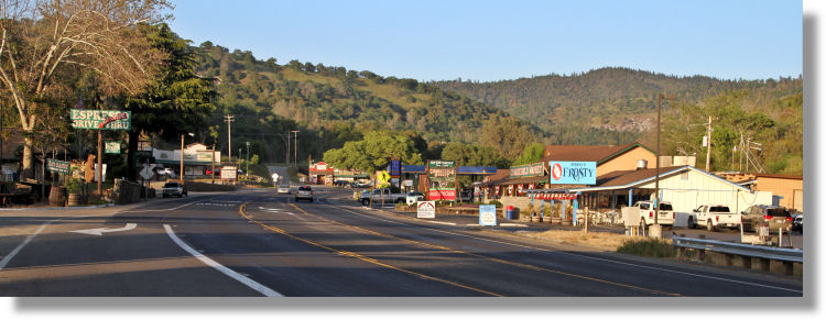 Downtown Coarsegold, California