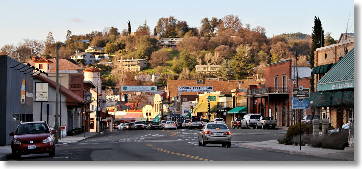 Downtown Sonora, California