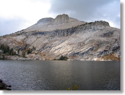 May Lake and Mt. Hoffmann