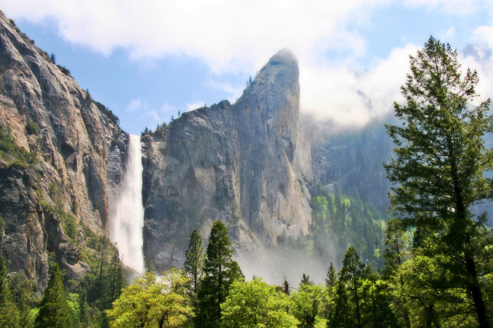 Bridalveil Fall from Southside Drive