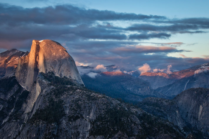 Sunset at Glacier Point, Yosemite