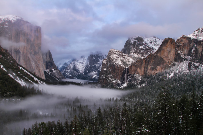 Yosemite's Tunnel View