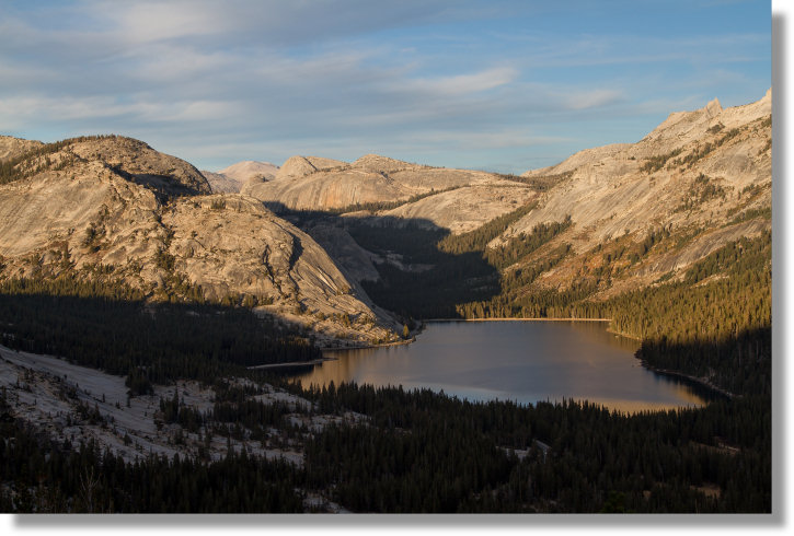 Tenaya Lake from near Olmsted Point