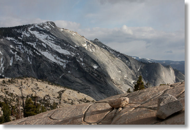 Clouds Rest from Olmsted Point, Yosemite National Park