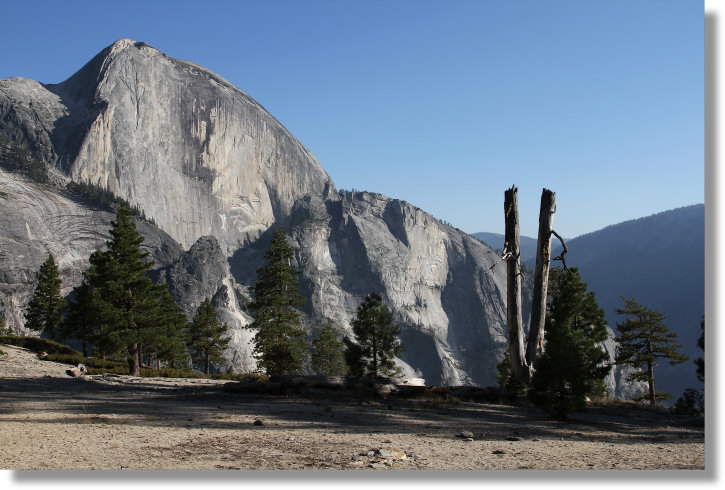 Yosemite Creek Trail The Snow Creek Trail Area