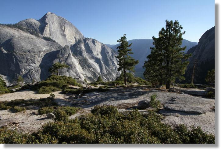 Yosemite Creek Trail Near The Snow Creek Trail