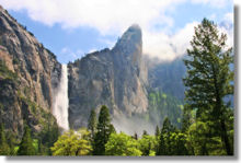 thumbnail: Bridalveil Fall from Southside Drive