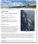 Glacier Point gallery index