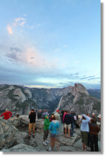 Twilight at Glacier Point