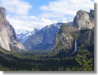 Yosemite Valley from the Tunnel View
