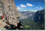 The Overlook at Upper Yosemite Falls