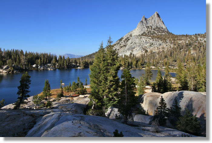 Upper Cathedral Lake and Cathedral Peak, Yosemite National Park