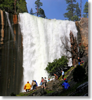 Vernal Fall, Mist Trail