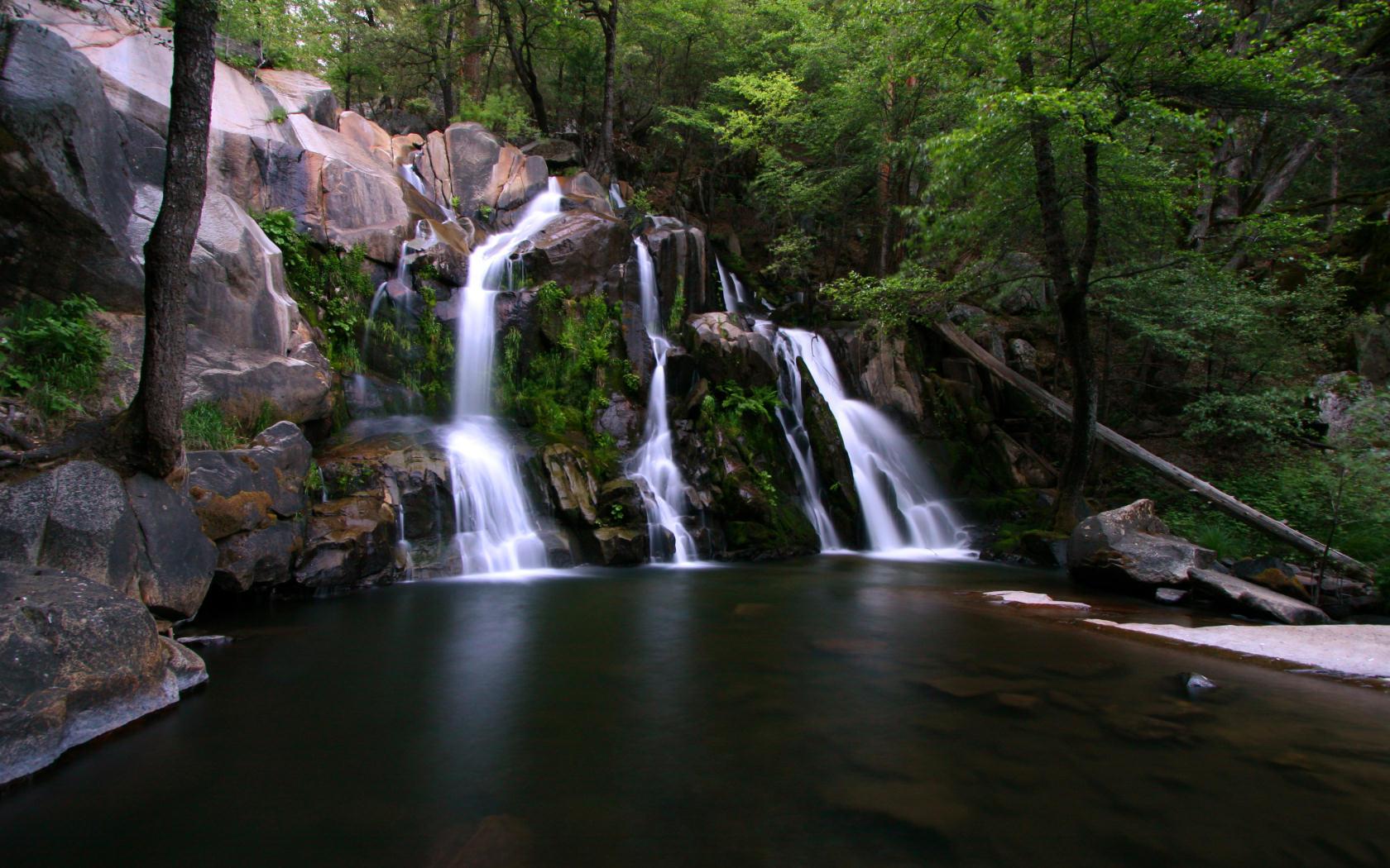 free yosemite wallpapers - corlieu falls