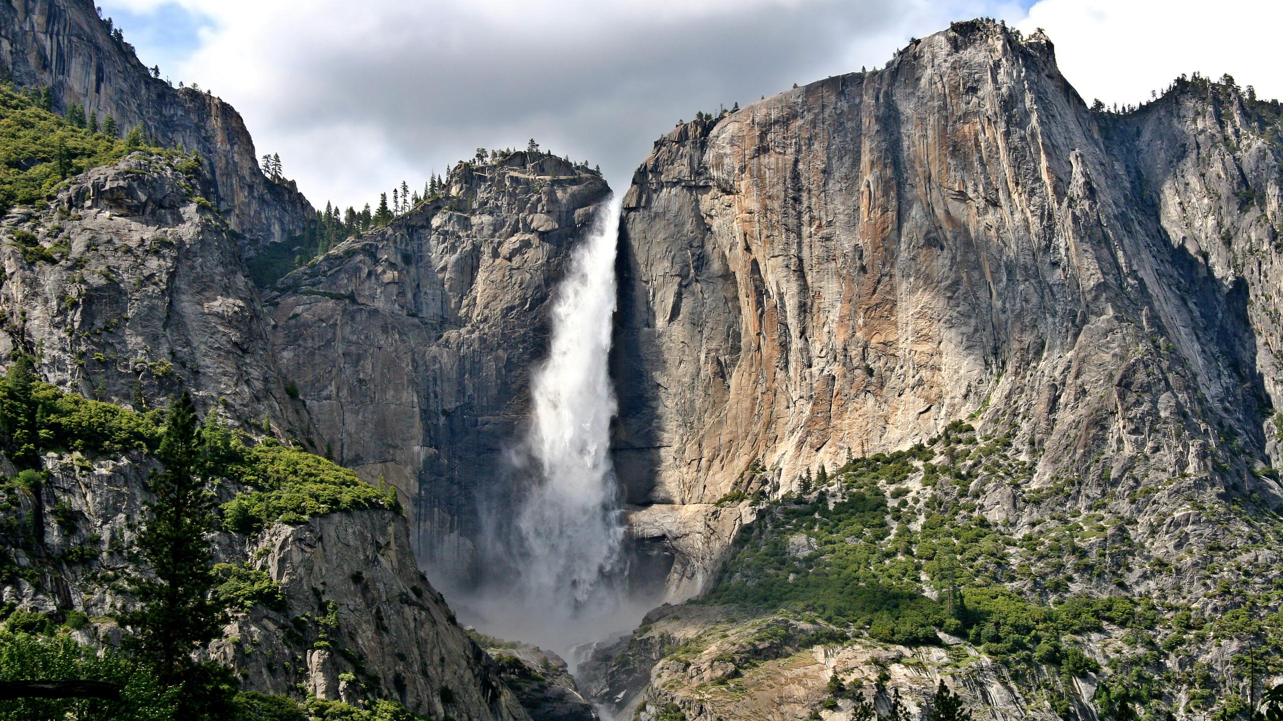 Hd wallpaper yosemite - Upper Yosemite Falls