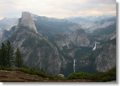 Half Dome seen from Washburn Point