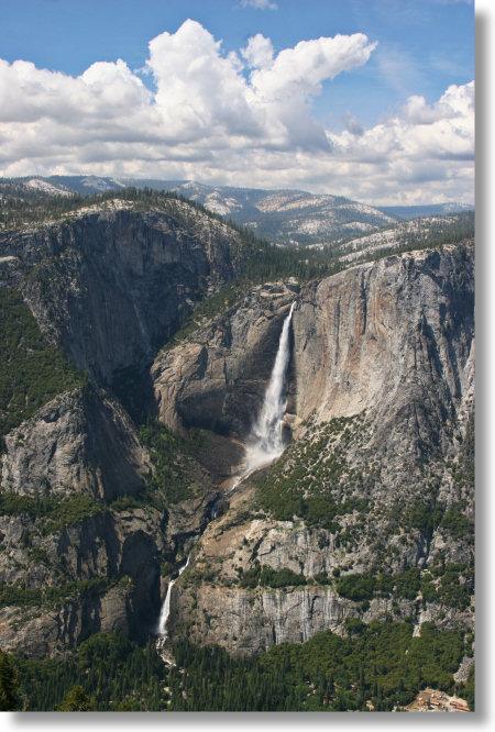 Yosemite Falls from the 4-Mile Trail