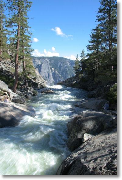 Yosemite Creek Trail Yosemite Creek Just as it