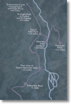 Upper Yosemite Falls Trail Map